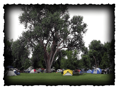 tent camping in sturgis